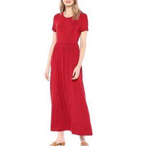 Dresses & Skirts - Short Sleeve Waisted Maxi Dress Sz  XL
